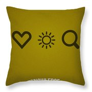 Knowledge Throw Pillow by Aged Pixel