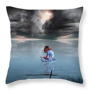 Known Of Yah Throw Pillow