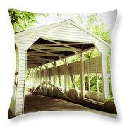 Knox Bridge Throw Pillow