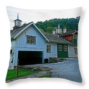 Knox Quarters Stable Throw Pillow