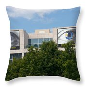 Knoxville Art Museum Throw Pillow