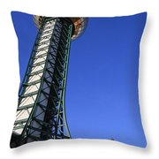 Knoxville Sunsphere Perspective Throw Pillow