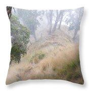 Misty Koa Ridge  Throw Pillow