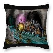Kobold Entry Cavern Throw Pillow