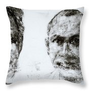 Men Of Cochin Throw Pillow