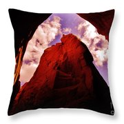 Kodachrome Cave Throw Pillow