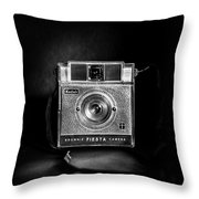 Kodak Brownie Fiesta Throw Pillow