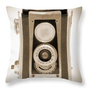 Kodak Duaflex Iv Camera Throw Pillow