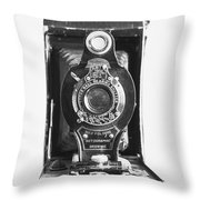 Kodak No. 2 Folding Autographic Brownie Camera Throw Pillow