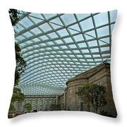 Kogod Courtyard #2 Throw Pillow