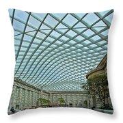 Kogod Courtyard  Throw Pillow