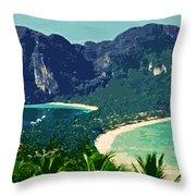 Koh Phi Phi ... Throw Pillow