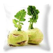 Kohlrabi Throw Pillow
