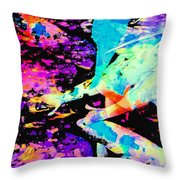 Koi 19 Throw Pillow