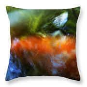 Koi Dream Throw Pillow