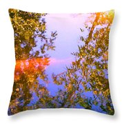 Koi Fish 4 Throw Pillow