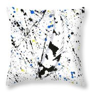 Koi Gin Rin Splash Throw Pillow