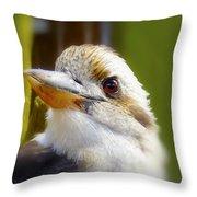 Kokaburra Throw Pillow