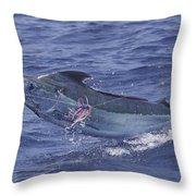 Kona Blue Throw Pillow