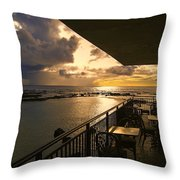Kona Coast Lanai Throw Pillow
