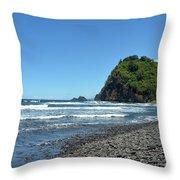 North Kona Coast 3 Throw Pillow