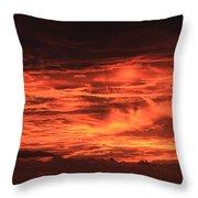 Kona Sky On Fire  Throw Pillow