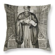 Kong-fu-tse, Or Confucius, The Most Throw Pillow