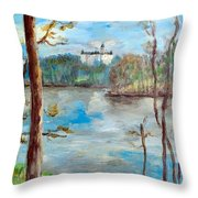 Konopiste Throw Pillow
