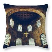 Konstantin Basilika Throw Pillow