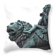 Konzerthaus Berlin - Lion Sculpture  Throw Pillow