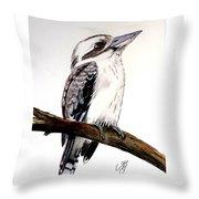 Kookaburra 5 Throw Pillow