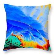 Popcicle  Throw Pillow