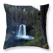 Koosah Falls No. 1 Throw Pillow