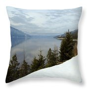 Kootenay Paradise Throw Pillow by Leone Lund