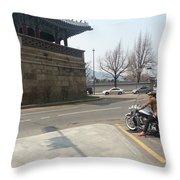 Korea Throw Pillow