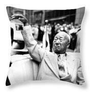 Korean President Syngman Rhee Throw Pillow