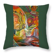 Koulikoro Woman Throw Pillow