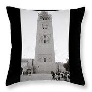 Koutoubia Mosque Throw Pillow