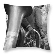 Krakow Brass Buskers Throw Pillow