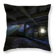 Krampnitz Barracks Throw Pillow