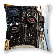 Kri Dewaruci Ops Sail 2012 Throw Pillow
