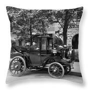 Krieger Electric Carriage Throw Pillow