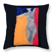 Krys In Color Throw Pillow