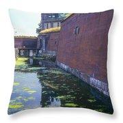 Kromborg Castle Throw Pillow