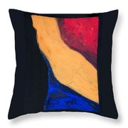 Krys In Color 2 Throw Pillow
