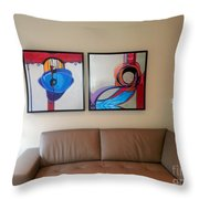 Kt Install Giclees Throw Pillow