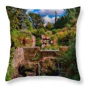 Kubota Garden Pond Throw Pillow