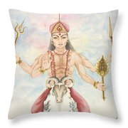 Kuja Mars Throw Pillow