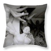 Art Of Kumartuli Throw Pillow