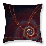 Kundalini By Jammer Throw Pillow